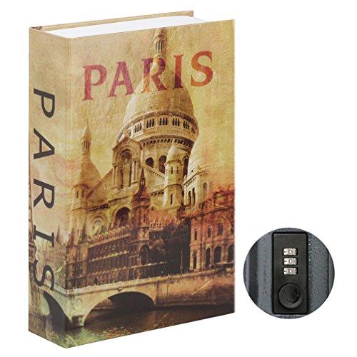 Jssmst Diversion Book Safe with Combination Lock, Secrect