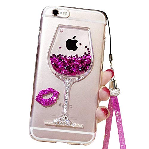 Iphone 6s Plus Case Glitter Cute Phone Case Girls With Kickstand