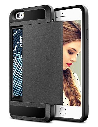 buy popular 59df5 76f81 Matte Black – TORU CX PRO iPhone 6S Wallet Case with Hidden ID Slot ...